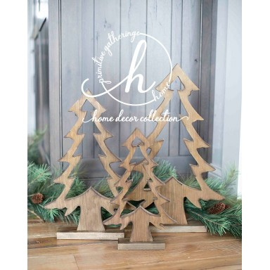 Wood Cut Out Trees