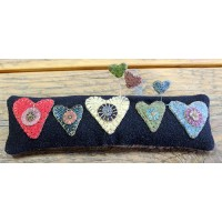 Primitive Hearts Pin Cushion