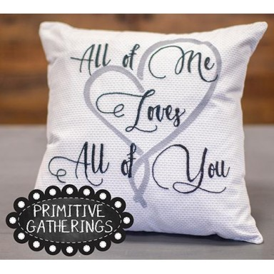 All Of Me Pillow Kit