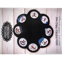 Shop Hop Snow Buddies Table Mat