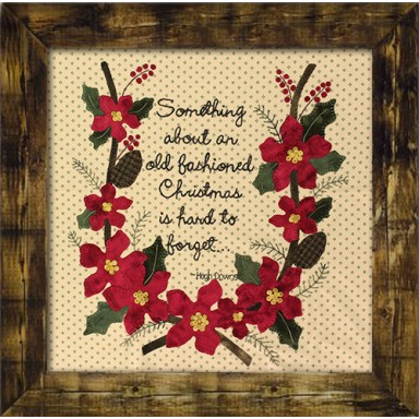 Old Fashioned Christmas-Wool Kit