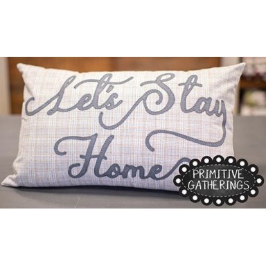 Let's Stay Home Pillow Kit