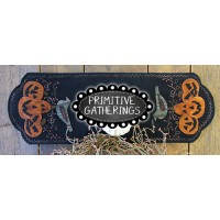 Old Crow and Company Table Runner Dark Version