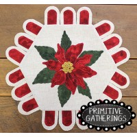 Poinsettia  Table Mat