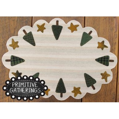 Holiday Tree Table Mat