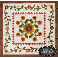 Squash Blossoms Mini Quilt