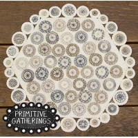 Winter Penny Table Mat