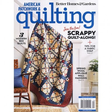 American Patchwork & Quilting April 2020