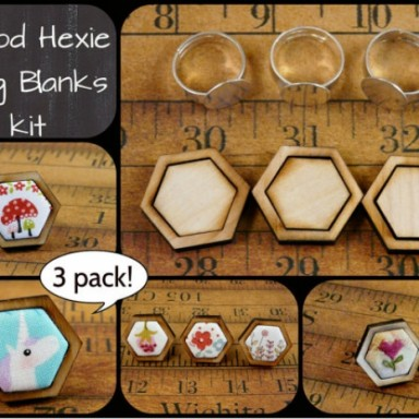 Mini Hexie Rings