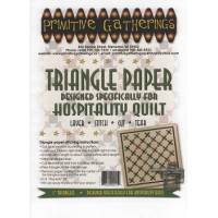 Triangle Paper -Hospitality Quilt
