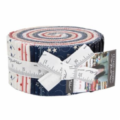 Star and Stripe Gatherings Jelly Roll