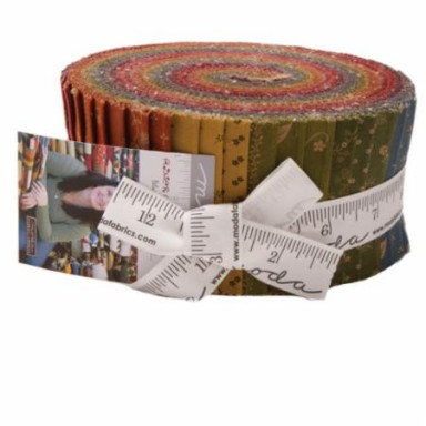 Flower Garden Gatherings Jelly Roll