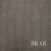 Brown Mill Dyed Woolens