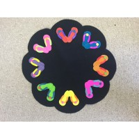 Flip Flop Table Mat