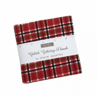 Yuletide Gatherings Flannels Charm Pack