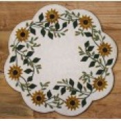 Penny Rugs , Candle Mats, Table Mats