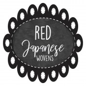 Red Japanese Wovens