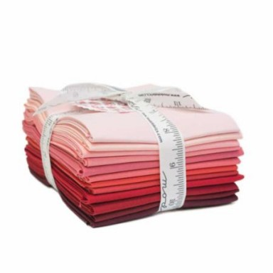 Bella Solids Fat Quarter Bundle-Reds