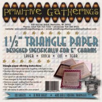 """1 1/2"""" Triangle Paper for Charms"""