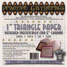 """1"""" Triangle Paper-For Charms"""
