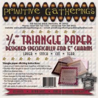 """3/4"""" Triangle Paper-For Charms"""