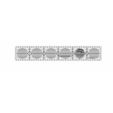 "Creative Grids Quilting Ruler 1"" X 6"""