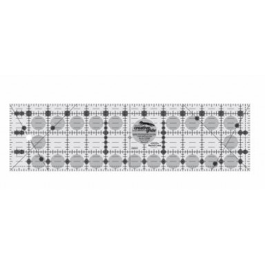 """Creative Grids Quilting Ruler 3 1/2""""  X 12 1/2"""""""