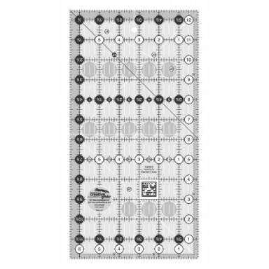"""Creative Grids Quilting Ruler 6 1/2"""" X 12 1/2"""""""