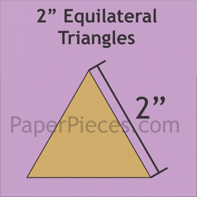 """2"""" Equilateral Triangle"""