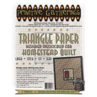 Triangle Paper -Homestead Quilt