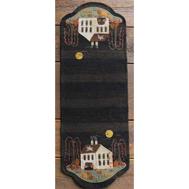 Pumpkin Farm Table Runner