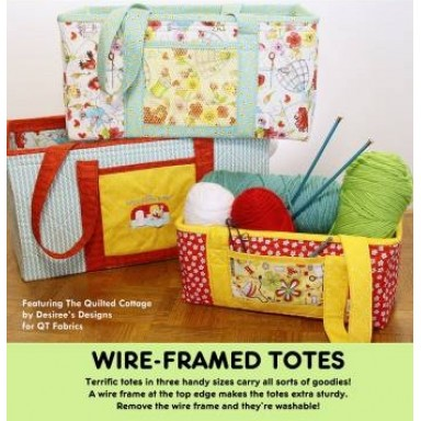 Wire-Framed Totes