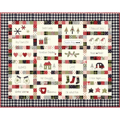 Hometown Christmas Quilt