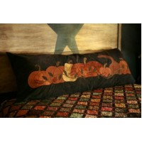 Pumpkin Row Bed Pillow