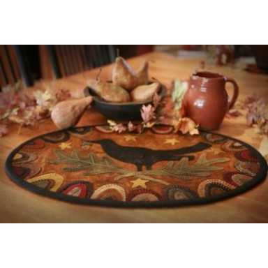 Redware Crow Tablemat