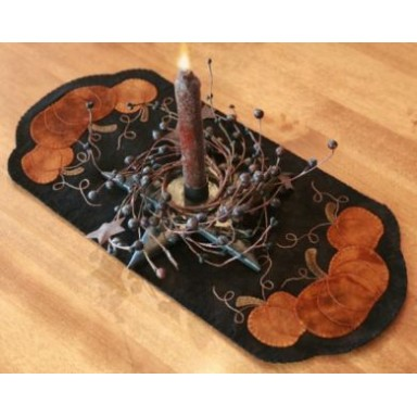 Pumpkin Trio Table Mat