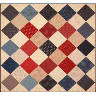 Old Glory Picnic Quilt