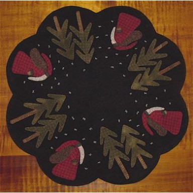 Old St. Nick Table Mat