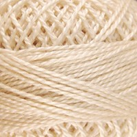5-Light Ecru-Valdani # 12 Perle Cotton