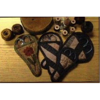 Quilted & Applique Scissors Keepers