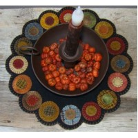 Scrappy Penny Candle Mat-Dark Version