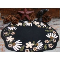 White Flower Table Mat